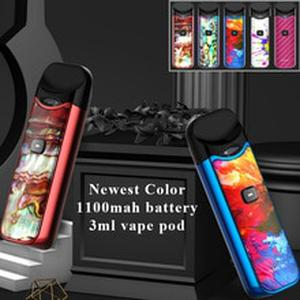 5pcs/lot Newest Smok Nord Kit Vape pod 1100mAh & 3ML POD E cigarette Vape Pen Kit fit Nord mesh/ceramic Coil MTL pod Kit