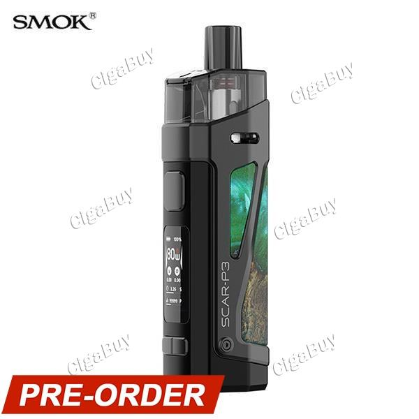 Smok SCAR-P3 Kit - Green Stabilizing Wood