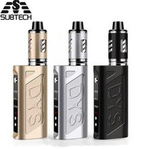 Newest DYS 80w vape kit built -in 2000mah electronic cigarette 80w box mod with 2.0ml atomizer hookah vaper smoking vaporizer
