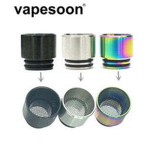 Metal Anti-fried Oil Vape Mouthpiece 810 Drip Tip for e-Cigarette 810 Thread Atomizer Tank Vaporizer