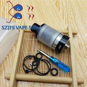 Newest SQuape E RTA 2.0ml 316 steel material Ceramic table SQE oil storage e-cigarette DIY atomizer fit 510 thread Vaporizer Mod