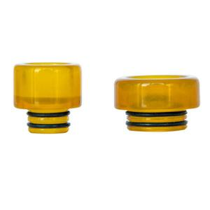 C4 Replacement PEI 510 Drip Tip + 810 Drip Tip (2PCS) - Yellow