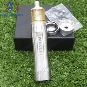 YFTK 316ss Stainless Steel mech Stratum zero mod 18650/20700/21700 battery with KAYFUN LITE rta hot Europe 26mm mechanial mods