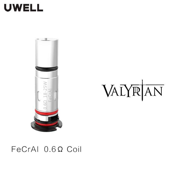 Valyrian Pod Coil FeCrAI 0.6ohm & 1.0ohm Supports DTL & MTL Vaping for Valyrian Pod Kit 4pcs/Pack VS Valyrian 2 Coil