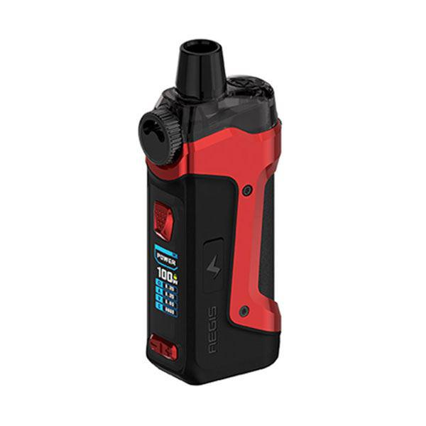 GeekVape  Aegis Boost Pro 100W Pod System Vape Mod Kit - VW 5~100W, 1 x 18650, 6.0ml, 0.2ohm / 0.4ohm - Red