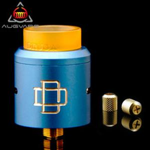 Original  Druga RDA Atomizer with Replacement Nuts 24mm Clamp Snag System Electronic Cigarette Atomizer Tank RDA