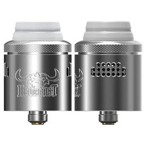 Hellbeast RDA Rebuildable Dripping Vape Atomizer w/ BF Pin - Stainless Steel, 24mm Diameter - ss