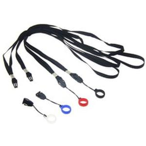 100PCS Detachable Necklace lanyard with 13mm Silicone Ring Band for Vape Pods Kit E-Cigarette Accessoriess