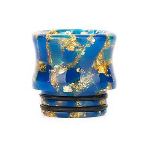 810 Replacement Trumpet starry Resin Drip Tip - Blue