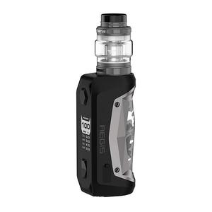 GeekVape Aegis Solo 100W 5.5ml TC VW + Cerberus Tank Kit - Gun Metal