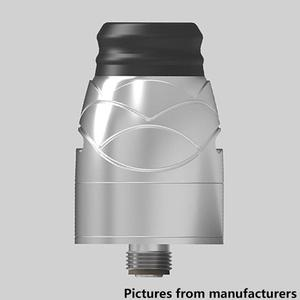 Hugsvape Theseus 22mm RDA  w/ BF Pin - Silver