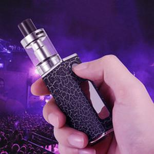 Adjustable Wattage Vaper Pen 80w Electronic Cigarette Mods Kit 1500mah P9 E Cigarette  LED Light Display Electronic