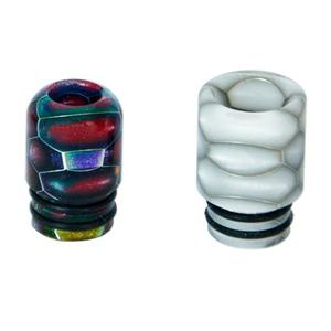 C5 Replacement 510 Resin Drip Tip (2PCS) - Random Color