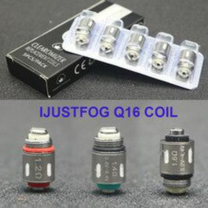 60PCS vapesoon Replacement justfog Coil Head 1.2ohm 1.4ohm 1.6ohm Core For Justfog C14 Q14 Q16 P16A fog1 Vaper Kit