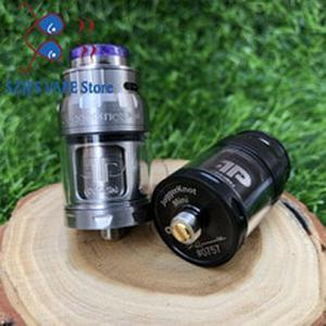 RTA Atomizer QP Mini Juggerknot Style 24mm  Rebuildable Vape Tank Top Airflow Coil Design Dual/Single Coil for 510 e Cigarette
