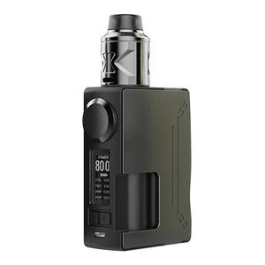 Surge 80W TC VW BF Squonk  w/ Piper Atomizer w/ 6.0ML Bottle - Gun Metal