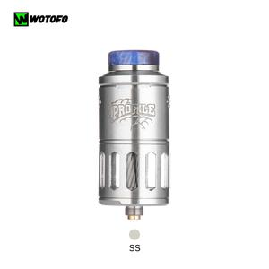 Profile RDTA 6.2ml 25mm Atomizer With nexMESH Clapton Head For 510 Thread  Vape VS Pyro V3 RDTA