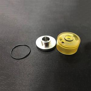 Replacement PEI Top oil fitting kit for KF LITE RTA 22mm - Silver