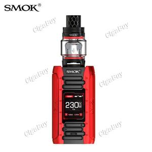 Smok E-Priv 230W 8ML TC Starter Kit - Black Red