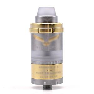 VG Kronos 2 S Style 23mm 316SS RTA  4.0ML - Silver Gold