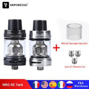 Original  NRG SE Tank 3.5ml Atomizer with GT Meshed Coil Core For Vape Swag 2 Luxe Gen Revenger  E-Cigarette Kit