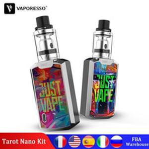 Original  Tarot Nano Kit with VECO Tank 2ml 80W  Vape 2500mAh Built in Battery Vaporizer Electronic Cigarette