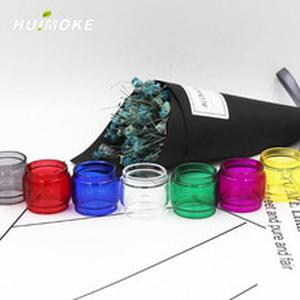 Multi-Color E-Cigarrete Fatboy Bulb Version Pyrex Glass Tube Replacement For 100% Original   TFV12 Baby Prince Tank