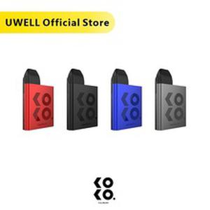 In Stock! UWELL Caliburn KOKO Pod System 11W 520 mAh 2 ml refillable Pod Cartridge Vape Pod System