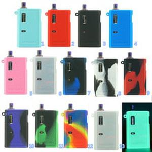 10pcs Silicone case for Ijoy Mercury Resin kit 12W pod Mod Vape texture skin rubber sleeve protective cover fit Mercury 12W