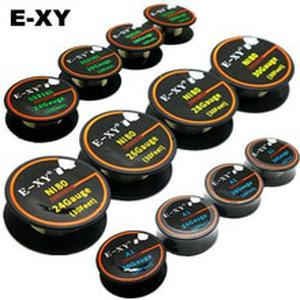 E-XY 10m/roll NI80 SS316L A1 Wire heating wire for RDA RBA Rebuildable DIY Atomizer Coil E-Cigarette Vaporizer coils