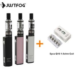Original Justfog Q16 Kit 900mah Battery with 1.9ML Q16 Clearomizer Tank Electronic Cigarette Vape Pen Vaporizador Kit Vaper