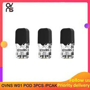 3pcs/pack Rofvape OVNS W01 Pod for OVNS W01 kit pod system kit cartridge