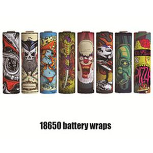 Electronic Cigarette Accessories 18650 Battery Cover Stickers Protective Skin for Vapor MOD 18650 Batteries