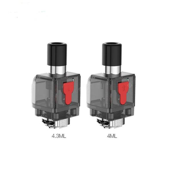 Smok Fetch Pro Replacement Empty 4ml RGC Pod Cartridge 3PCs /