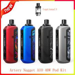 Hot Artery Nugget AIO 40W Pod Kit 1500mAh battery with optional Replacement Pod Cartridge 2ml vs Vinci X/ pal 2 pro