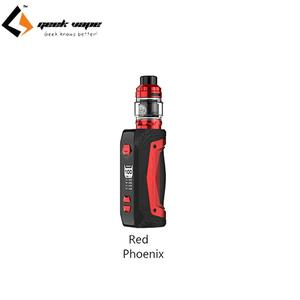 GeekVape Aegis Max Kit 100W Aegis Max Mod Support Single 18650/21700 Battery with 5ml Zeus Tank Mesh Z1 & Mesh Z2 Coil