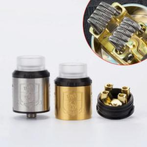King RDA Atomizer 24mm Diameter with 810 Drip Tips For Vape  Electronic Cigarette Hookah Atomizer