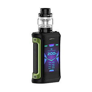 Aegis X 200W 5.5ml/4ml Starter Kit - Green Black