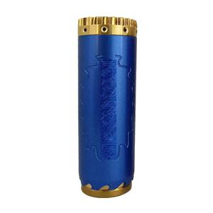 Comp Lyfe Magnum Saw Style 18650/20700 Mechanical Tube Mod with Extra Tube - Blue