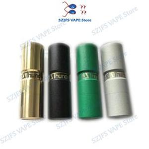 SUB TWO Elthunder MOD E Cigarette Top Refill VAPE RDA RDTA fit with 510 thread 18650 Battery   High quality mechanical mech mod