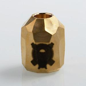 AV Stealth Style Replacement Top Cap for Battle RDA Atomizer - Brass