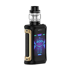 Aegis X 200W 5.5ml/4ml Starter Kit - Gold Black