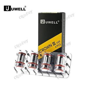 4 x   Crown III 3 0.4ohm Replacement Coil Head