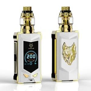 NEWEST electronic cigarette kit vape kit 100% original of sigelei snowwolf mfeng 200W SUPER POWER