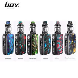 Original Ijoy SHOGUN UNIV Kit 180W Box MOD Vape with 5.5ml Katana Subohm Tank Fits 18650 E Cigarette vs DRAG 2