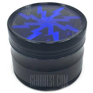 63mm Stylish Four-layer Manual Smoke Grinder