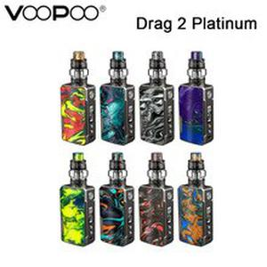 Original  Drag 2 Platinum Kit Platinum  Vape With UFORCE T2 Tank Fit UFORCE U2 Coil E Cigarettes Kit