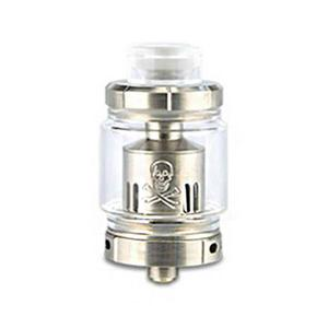 Baby Mesh 24mm Sub Ohm Tank Clearomizer - White,SS