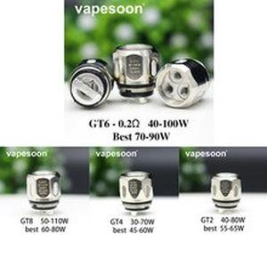 5PCS Replacement Coil GT2 GT4 GT6 GT8 Coil For NRG Tank NRG SE Atomizer Revenger /Swag Switcher Kit ETC