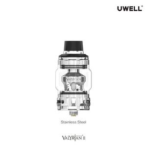 UWELL Official Store VALYRIAN 2 TANK 6 ml Cartridge 0.32ohm Mesh Coil Vape Electronic Cigarette for VALYRIAN 2